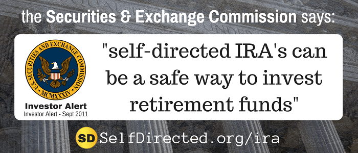 Self Directed Ira S The Definitive Guide 2019 Edition